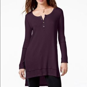 Free people button down Henley
